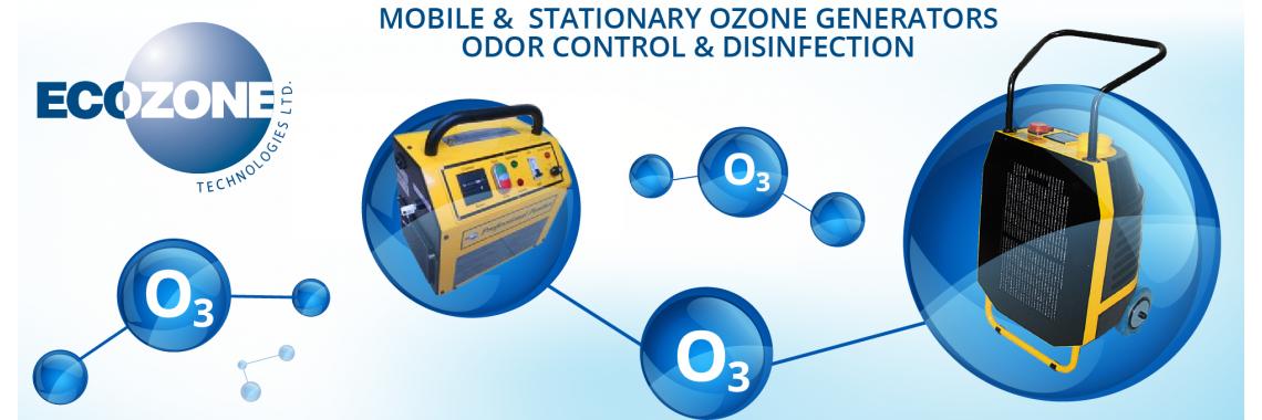 Ecozone ozonavimo įranga